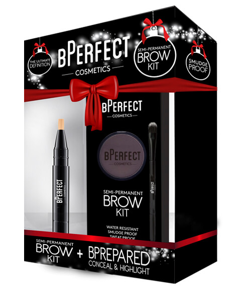 BPerfect Cosmetics Brown Semi Perm Chocolate Brow Kit